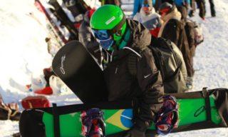 Em Bariloche, Isabel Clark abre circuito da Copa do Mundo de Snowboard Cross entre as 15 melhores atletas