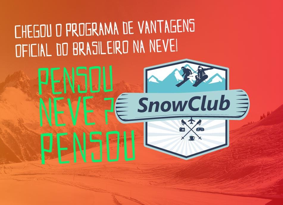 snow club - o programa de vantagens oficial do brasileiro na neve
