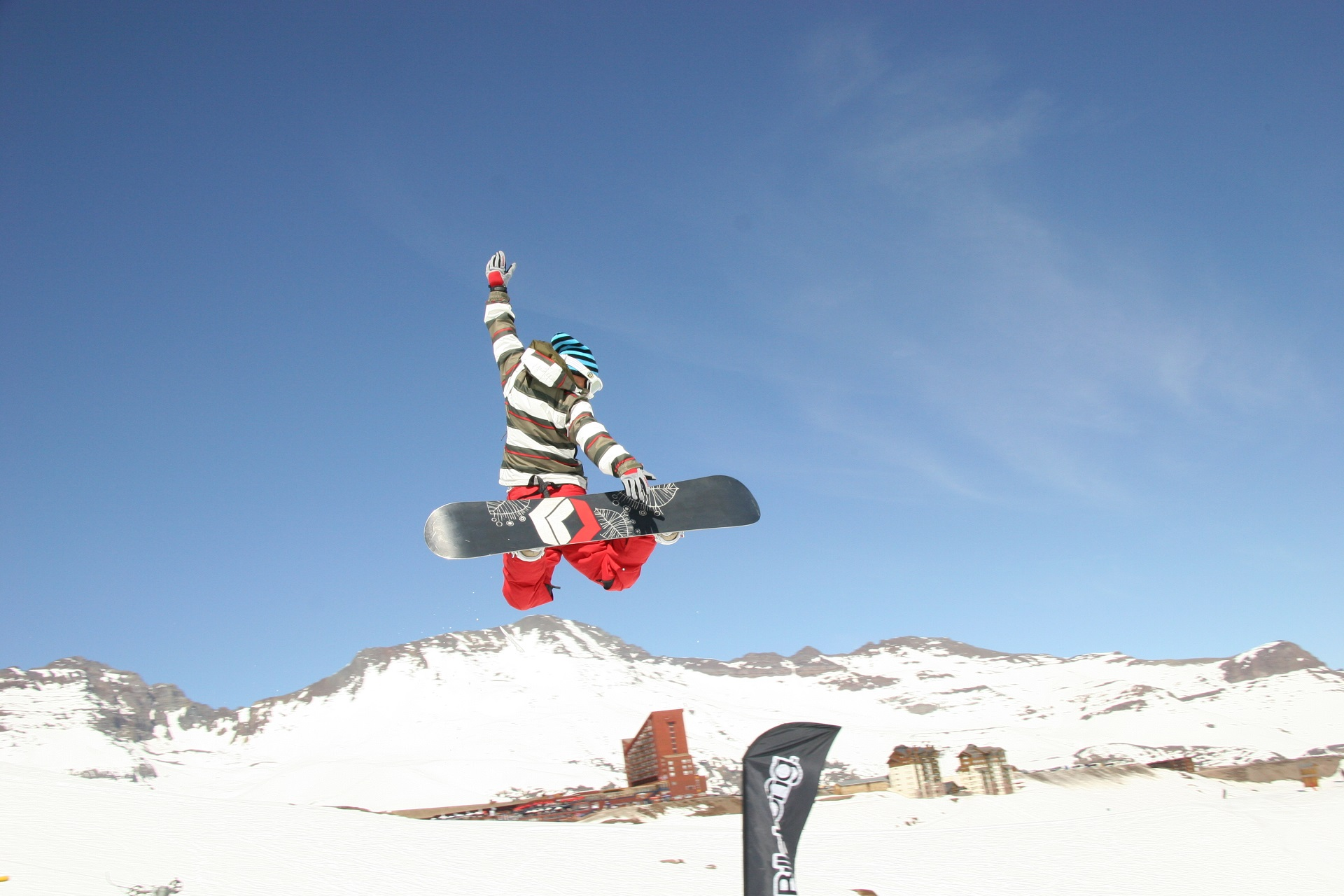 valle nevado ski snowboard resort chile santiago