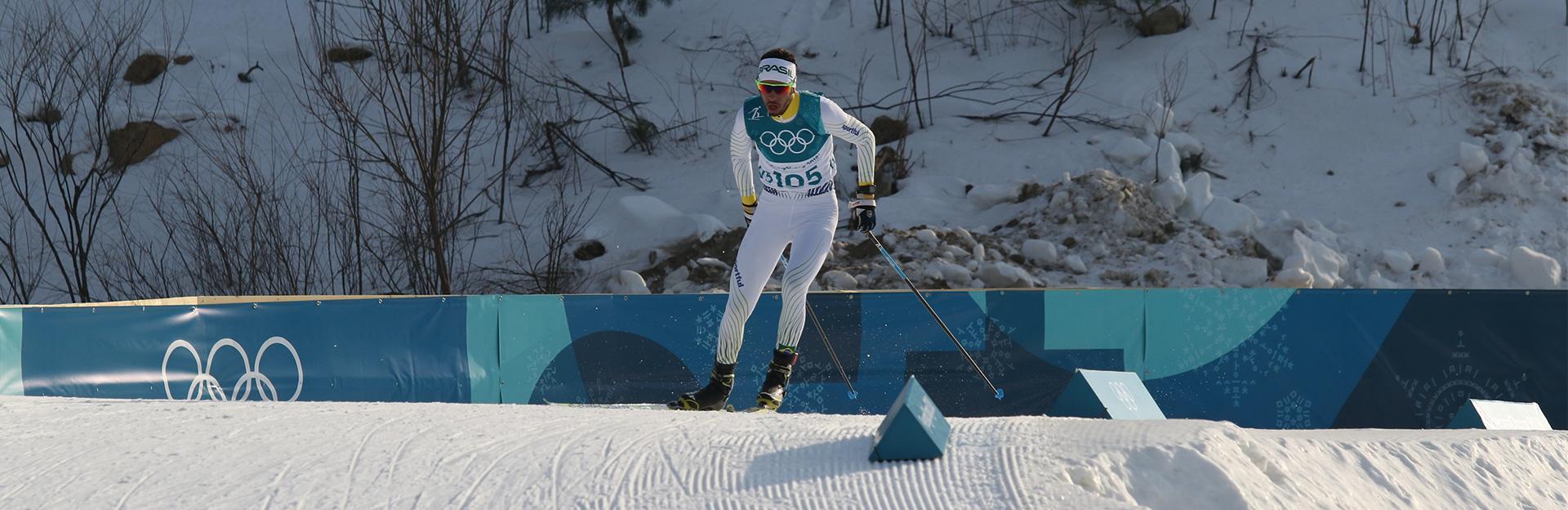 victor santos faz estreia olímpica
