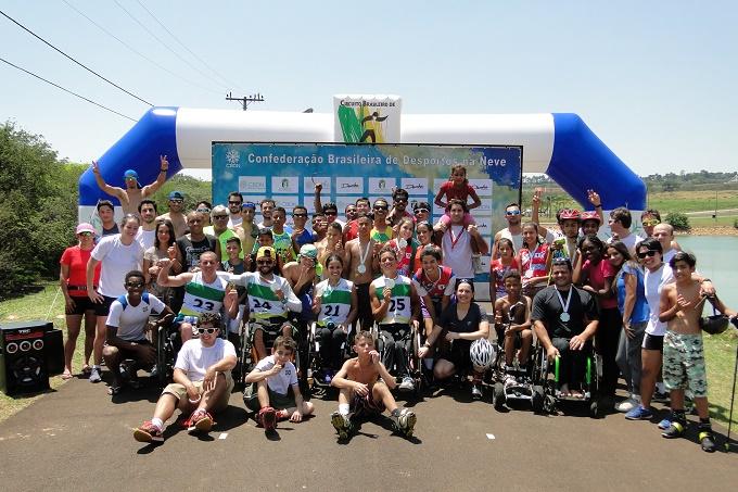 Circuito Brasileiro de Rollerski: 3ª etapa de luta por pontos na corrida olímpica, paralímpicos e novos talentos em evolução