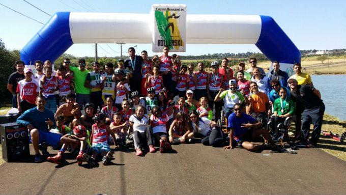 Disputas emocionantes e a nova geração são os destaques da 2ª etapa do Circuito Brasileiro de Rollerski